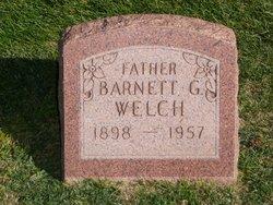 """Barnett Gibbs """"Barney"""" Welch"""