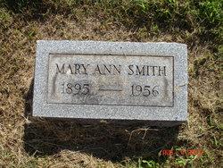 Mary Ann <I>Mayhew</I> Smith