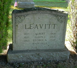 Albert Leavitt