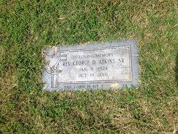 Rev George D Atkins, Sr