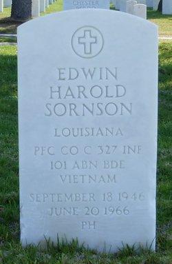 PFC Edwin Harold Sornson