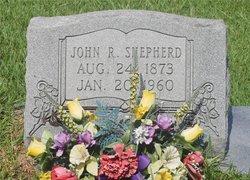 John R Shepherd