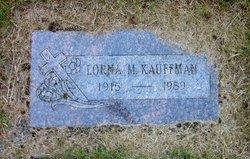 Lorna M Kauffman