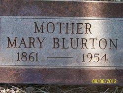 Mary Ann <I>Hayes</I> Blurton