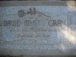 David Myles Gray