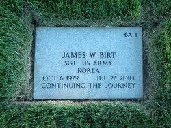 Sgt James William Birt