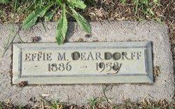 Effie M Deardorff