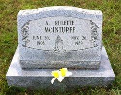A Rulette McInturff