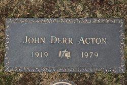 John Derr Acton