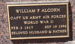 William F Alcorn
