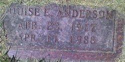 Louise E. Anderson