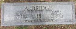 Elizabeth C. <I>Moore</I> Aldridge