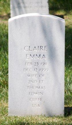 Claire Emma Cuffe