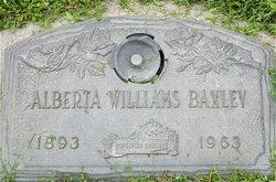 Alberta Lillie <I>Matthews</I> Baxley