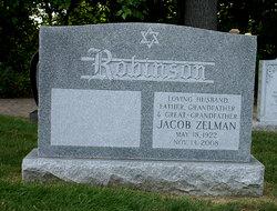 """Jacob Zelman """"Jack"""" Robinson"""
