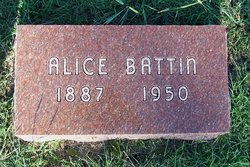 Edna Alice <I>Wilson</I> Battin
