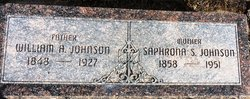 Saphrona Stella <I>Thompson</I> Johnson