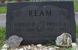 Phyllis N <I>Holderman</I> Ream