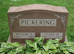 Clara Mary <I>Field</I> Pickering