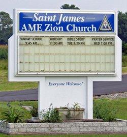 Saint James AME Zion Church Cemetery