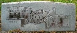 Frances A. <I>Hix</I> Brock