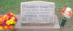Harriette <I>Minchew</I> Stewart