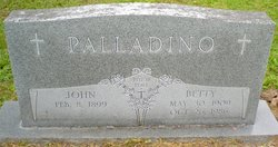 "Elizabeth ""Betty"" <I>Hart</I> Palladino"