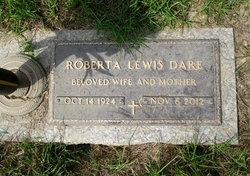 Roberta <I>Lewis</I> Dare