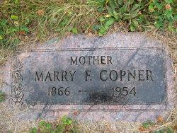 Mary Frances <I>Fowler</I> Copner