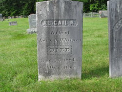 Abigail R. <I>Wilkins</I> Whitney