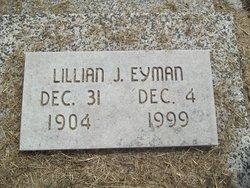 Lillian J <I>McDaniel</I> Eyman