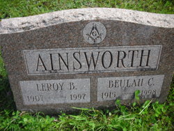 Leroy Burt Ainsworth