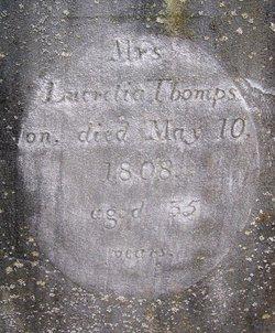 Lucretia <I>Chatfield</I> Thompson