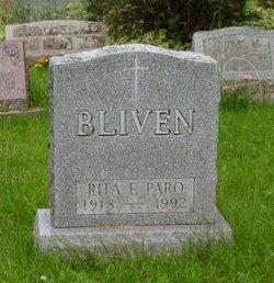 Rita Ellen <I>Paro</I> Bliven