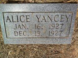 Alice Gertrude Yancey