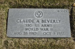 Claude A Beverly