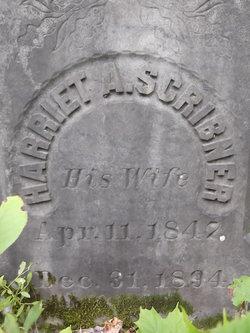 Harriet A <I>Scribner</I> Clough