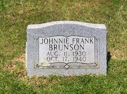 Johnnie Frank Brunson