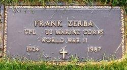 Frank James Zerba
