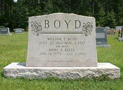 Mary E <I>Kelly</I> Boyd