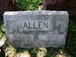 Mary Elizabeth <I>Klosterman</I> Allen