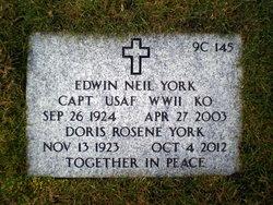 Doris Rosene <I>Ramsey</I> York