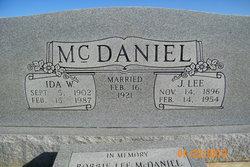 "Joseph Lee ""Josie"" McDaniel"