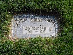 Lois <I>Riser</I> Croft