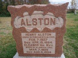 Eleanor <I>Carr</I> Alston