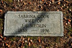Sabrina <I>Cook</I> Medlin