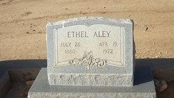 Mary Ethel <I>Daniel</I> Aley