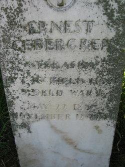 Ernest Gedergren
