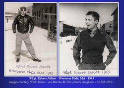 Sgt Robert Richard Abbott