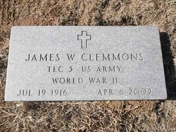 James W Clemmons